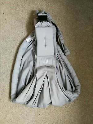 Baba Sling Baby Carrier light grey