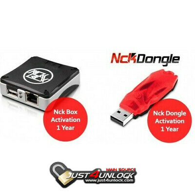 Nck Dongle / Box 1 Year Activation { Official Reseller } Fast Activation