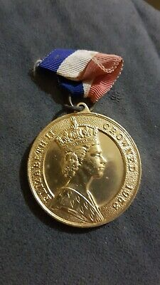 1953 QEII Coronation Commemorative Medallion