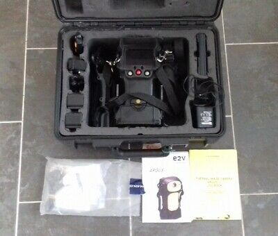 Argus 3 EV2 Thermal Imaging Camera in hard case with accessories
