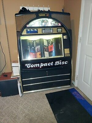 Rowe Ami Cd 100D Jukebox Compact Disc Full Working Commercial Game Room Bar