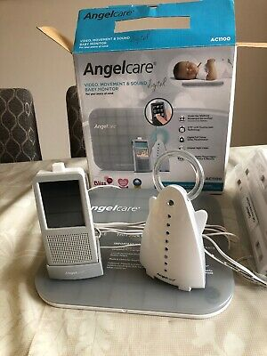 Angelcare Baby Monitor AC1100 Video Movement Sound