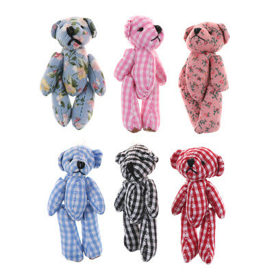 Miniature cute Teddy Bears Party Bags//Gift//Wedding Favour//Dolls House 1//12 size