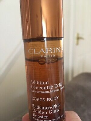 Clarins Radiance Plus Golden Glow Booster 30ml Partially used