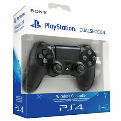Controller Dualshock 4 V2 Jet Black Ps4 Sony Playstation 4 Nuovo Ps4 Pro Nero