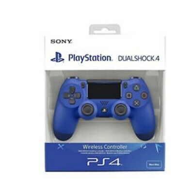 Controller Dualshock 4 V2 Wave Blue Ps4 Sony Playstation 4 Nuovo Ps4 Pro Blu