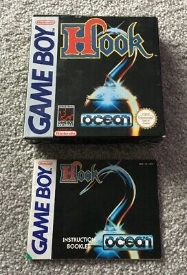 Nintendo Game Boy - Hook - Box and Manual Only. Gameboy.