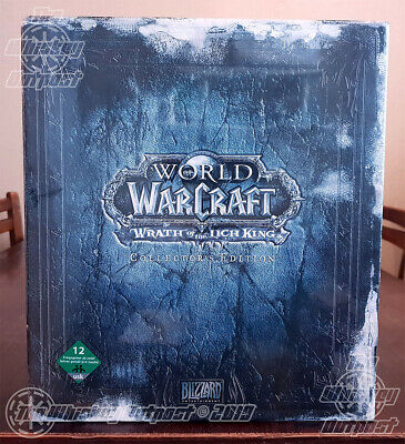 World Of Warcraft: Wrath Of The Lich King, Collector's Edition ( 2009) - Sealed