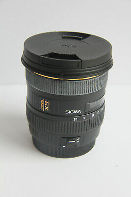 Sigma DC HSM 10-20mm EX Canon EOS EF fit GREAT CONDITION
