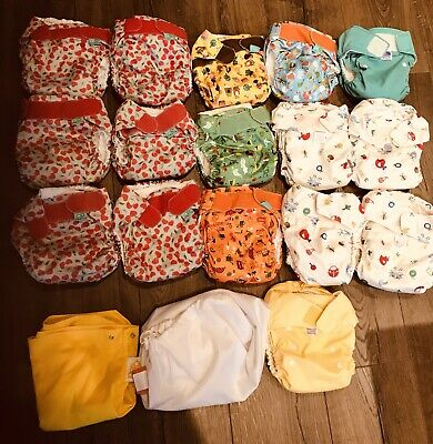 Tots Bots And Bambino Mio Reusable Nappies. All In One (used)