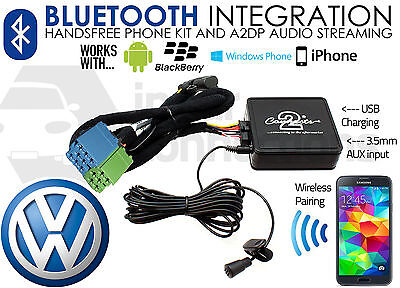 VW Jetta Bluetooth adapter streaming music calls CTAVGBT003 AUX iPhone Pre 2005