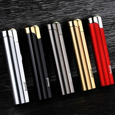 5 X AOMAI Jet Torch Lockable Flame Cigar Cigarette Butane Flint Lighter Random