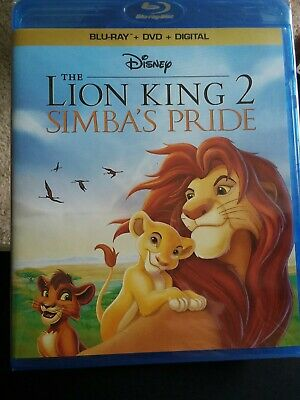 Disney The Lion King 2 Simba's Pride Blu-ray + DVD BRAND NEW FREE SHIPPING