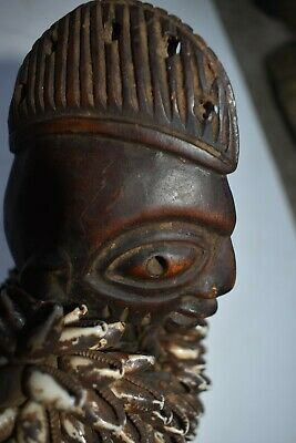 "orig $499-YORUBA VESTED IBEDJI EARLY 1900S REAL 8"" PROV."