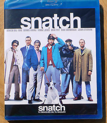 Snatch (Blu-ray Disc, 2010, Canadian) Region Free