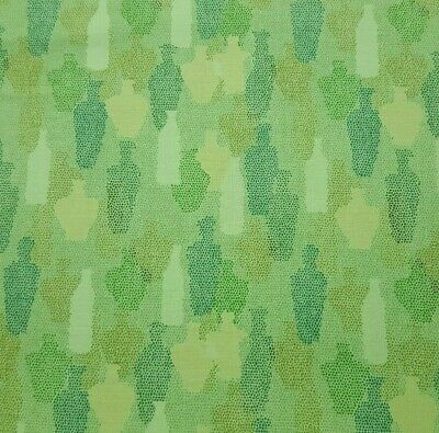 Sea Glass BTY Nancy Rink Marcus Brothers Tonal Green Stripe
