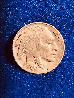 1931 S Buffalo Nickel, A Very Fine Looking Example Of A Low Mintage Date.