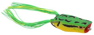 Spro Bronzeye Pop Frog 60mm Green Tree Soft Bait Hecht Gamakatsu Popper
