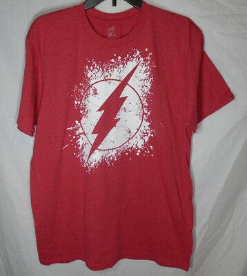 bfd074e4 THE FLASH * NEW Men's Large * T-shirt Graphic Tee NWT - red - DC ...