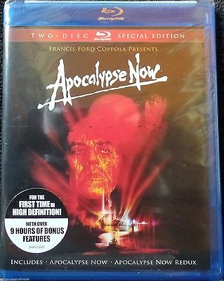 Apocalypse Now (Blu-ray Disc, 2010, 2-Disc Set, Special Edition) *BRAND NEW*