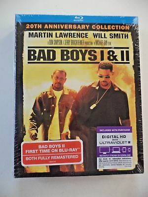 Bad Boys I & Bad Boys II (  2-Pack Blu-ray, 2-Disc Set + Digital HD )*BRAND NEW*