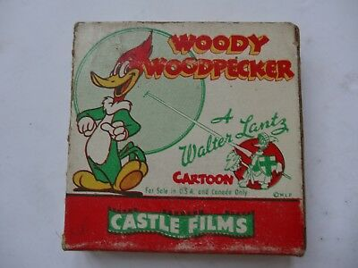 Woody Woodpecker 451 Knock-Knock 8Mm A Walter Lantz Castle Film