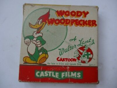 Woody Woodpecker 453 The Screw Driver 8Mm A Walter Lantz Castle Film