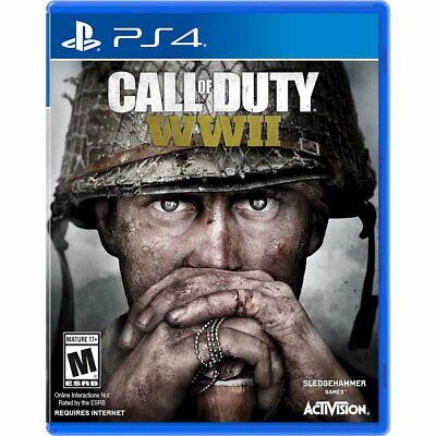 Call of Duty: World War II WW2 WWII (PlayStation 4, 2017) *BRAND NEW/SEALED*