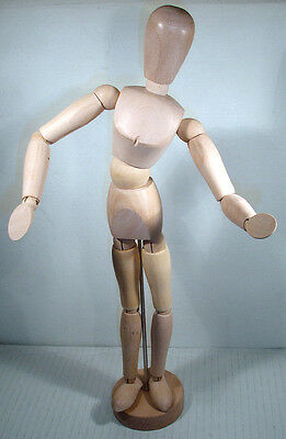 DALER-ROWNEY WOODEN MANNEQUIN 12 inch BOXED