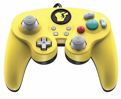 Nintendo Switch Fight Pad Pro Pikachu Wired Controller by PDP - GameCube Style
