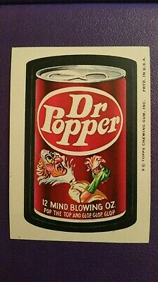 Wacky Packages 1974 8th Series - Dr Popper