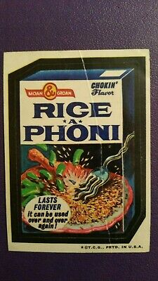 Wacky Packages 1973 3rd Series - Rice a Phoni