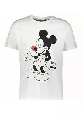 Disney Mickey Mouse Red Nose Day Comic Relief T Shirt Unisex Size S