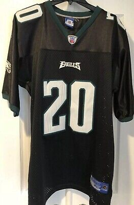 cheap for discount 7bcf2 33168 MEN'S REEBOK NFL #20 Brian Dawkins Eagles Jersey, Black ...