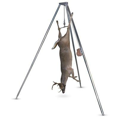 RUGGED GEAR GAMBREL And Pulley Hoist System, Game Hanger New