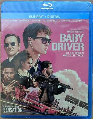 Baby Driver (Blu-ray Disc, 2017, Includes Digital Copy)