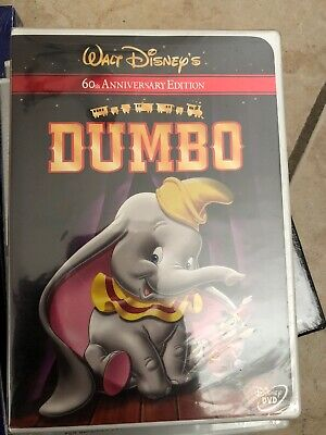 Disney's Dumbo (DVD, 2001, 60th Anniversary Edition) New