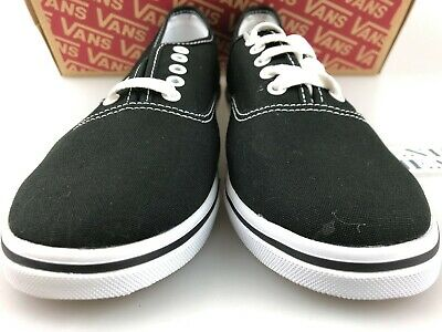 5948d97e88fa VANS Women Authentic Lo Pro Black True White Skater VN0GYQ6BT Size 8.5 to 10