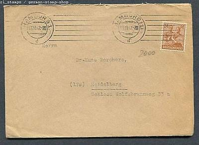 Germany - AMG : Very nice cover from Hamburg - 13.10.1947