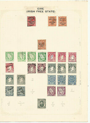 British Commonwealth Stamp Collection On 10 Album Pages