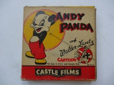 ANDY PANDA FILM 475 NUTTY PINE CABIN 8mm Castle Film Walter Lance