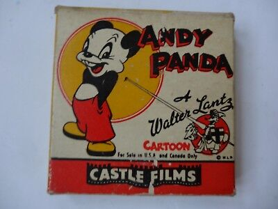 Andy Panda's Film 480 Fish Fry A Walter Lantz Carton Castle Films 1949-1963 8Mm