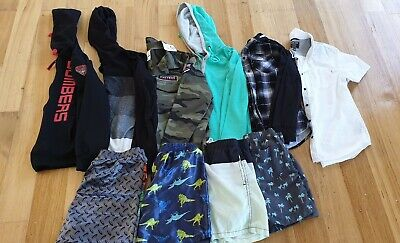 Boys Size 12 Bulk Clothes, 10 Items