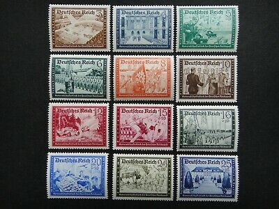 Germany Nazi 1939 1940 1941 Stamp MNH Third Reich Deutschland German WWII