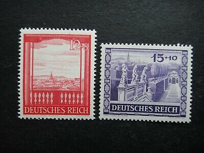 Germany Nazi 1941 Stamps MNH Third Reich Deutschland German WWII
