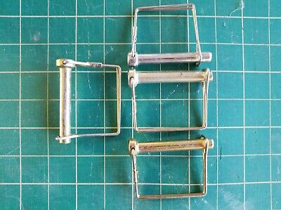 Scaffolding, Tractor, Safety Pin with Locking Wire Package of 4