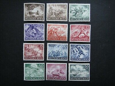 Germany Nazi 1943 Stamps MNH Army Day Third Reich Deutschland German