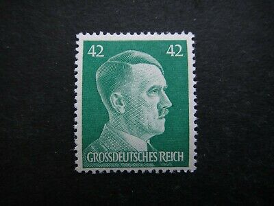 Germany Nazi 1944 Stamp MNH Third Reich German Hitler 42pf bright green Full Set