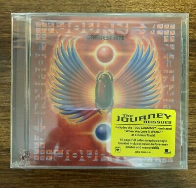 Journey Greatest Hits The Reissues + 16 Page Booklet Columbia 2006