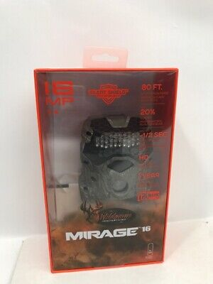 Wildgame Innovations Mirage 16MP Video Hunting Game Camera, Camo M16 (PBR012419)